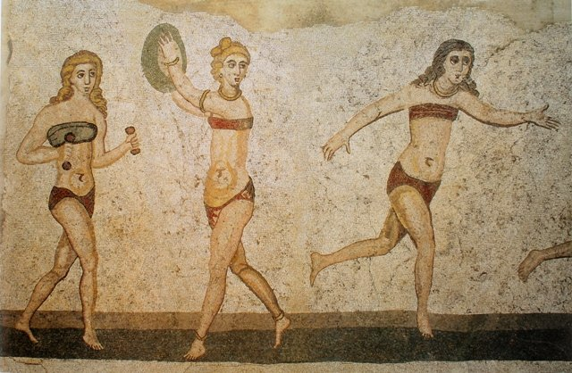 Biquíni tem origem no império romano