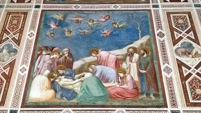 Cappela degli Scrovegni, afrescos de Giotto em Padova