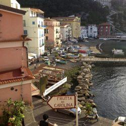 Serviços turísticos em Sorrento, província de Nápoles