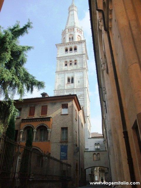 Dicas de Modena: Torre Ghirlandina