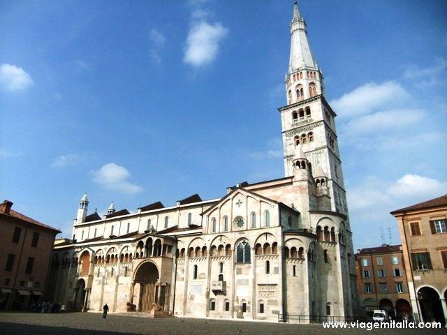 Catedral de Modena.