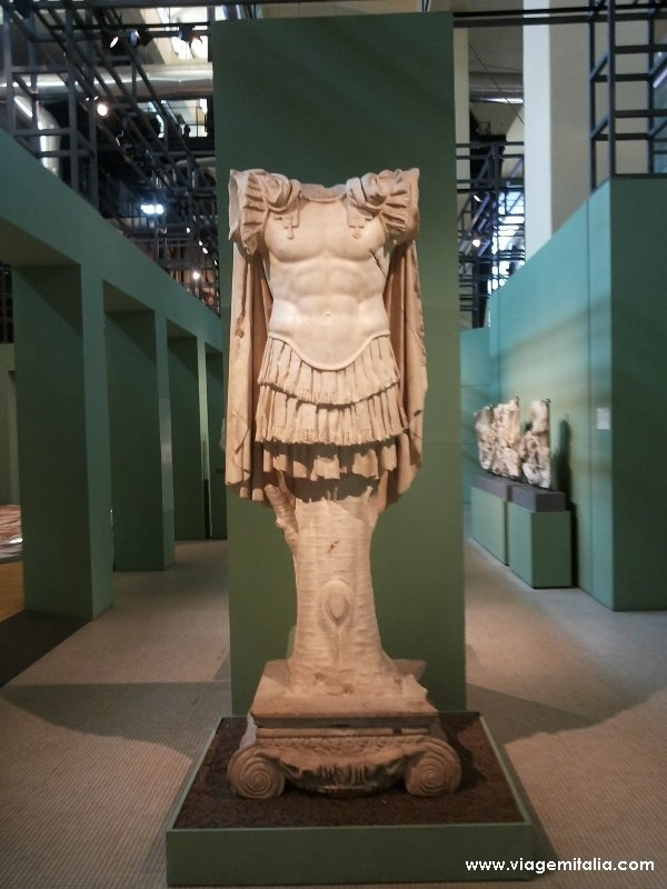Museu Central Montemartini em Roma