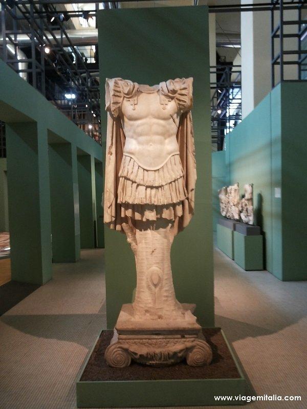 Dicas de 2 museus arqueológicos em Roma: Museu Central Montemartini