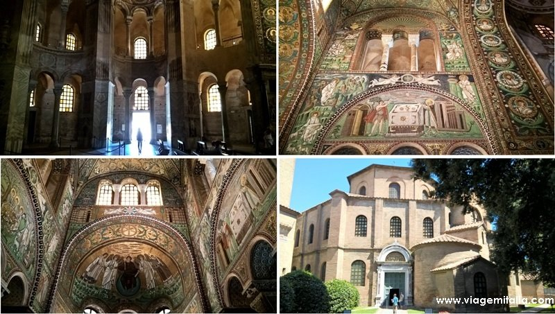 Pontos turísticos em Ravenna, Emília-Romanha