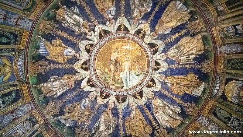 O que ver em Ravenna: Batistério dos Arianos