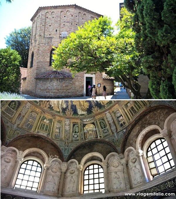 O que ver em Ravenna: Batistério Neoniano