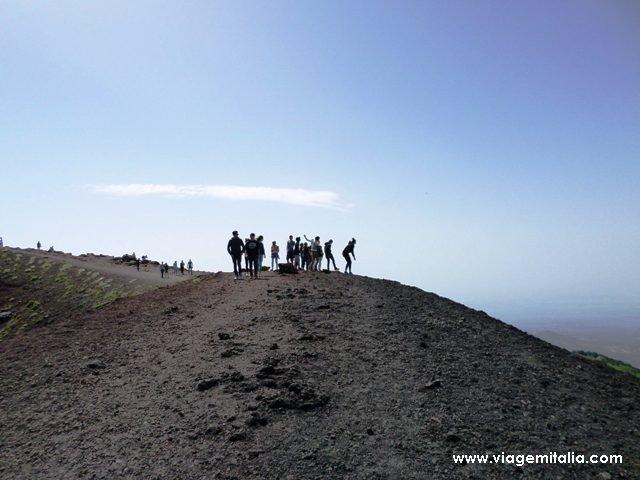 Como subir o Etna, Sicília, Itália