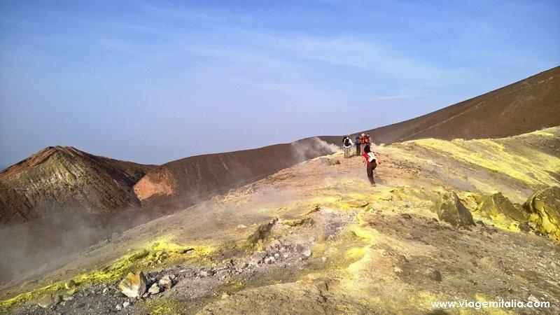 Cratera de Vulcano, Ilhas Eólias, Sicília