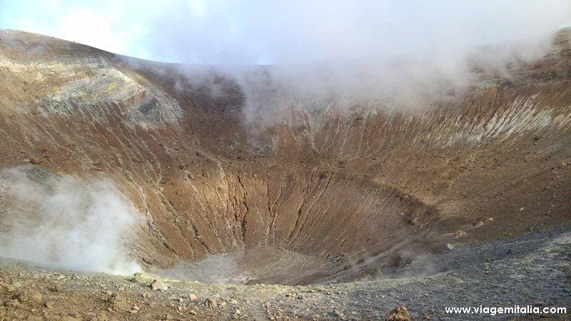 Cratera do Vulcano, Ilhas Eólias, Sicília