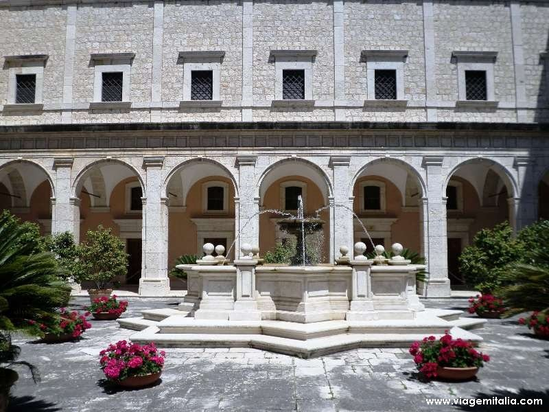 Abadia de Monte Cassino, Itália