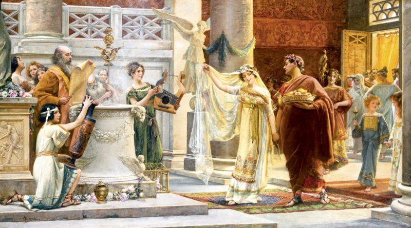 👰 Como era o casamento no Império Romano?