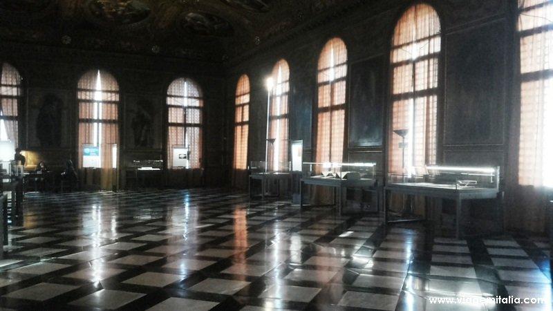 Informações sobre a Biblioteca Marciana Veneziana