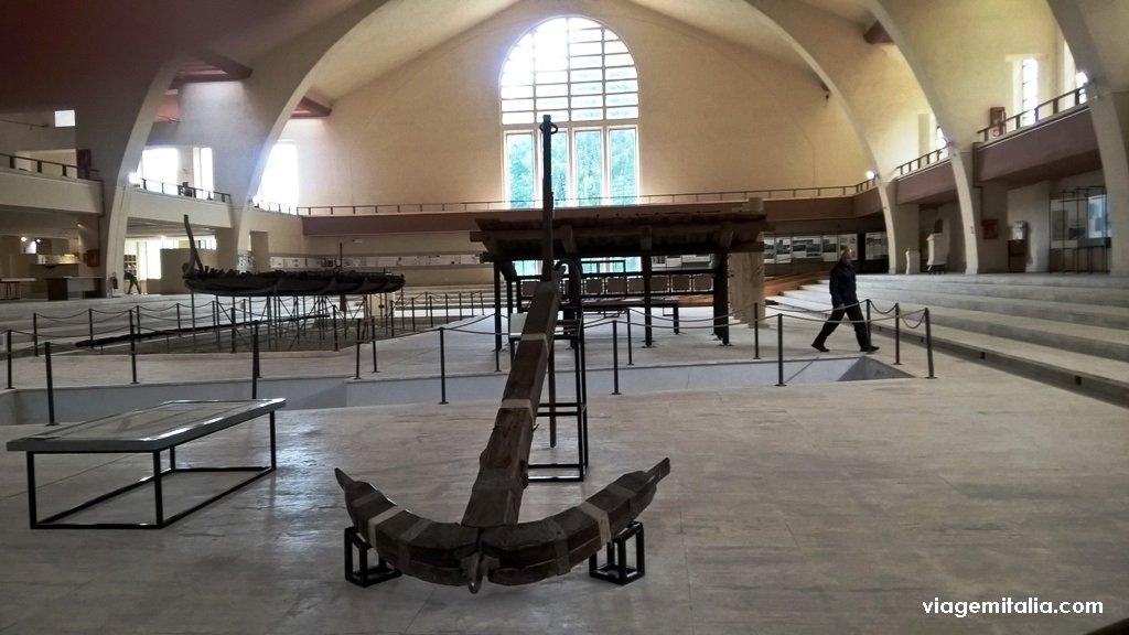 Museu dos Navios do Imperador Calígula, Nemi, Itália