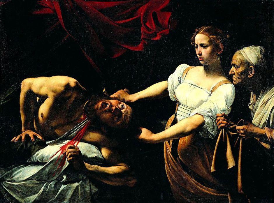 Judite que decapita Holofernes (1598-1599).