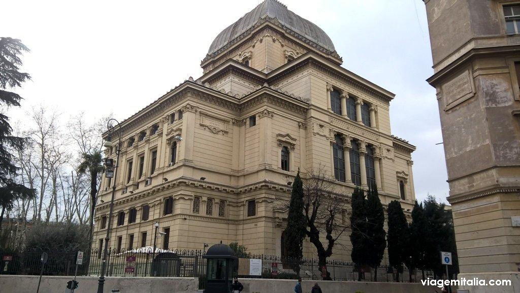Sinagoga de Roma, a maior da Itália