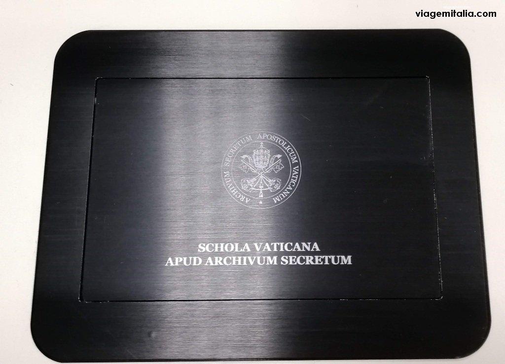 Arquivo Apostólico Vaticano, já Arquivo Secreto Vaticano