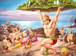 Hanuman-Lifting-Mountain-for-Laxman-20
