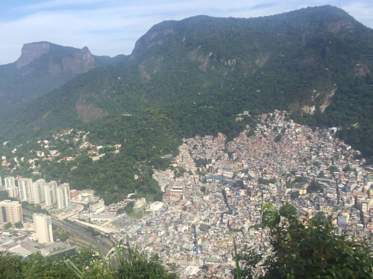 A Rocinha vista do alto