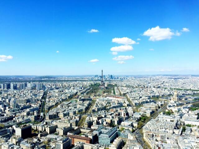 Vista do topo da Torre de Montparnasse