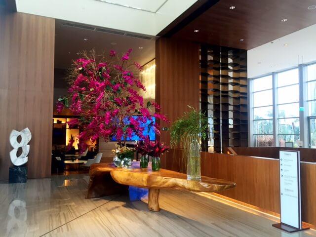 Lobby do Hilton