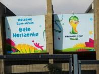 Belo Horizonte deu um show de receptividade com seus visitantes