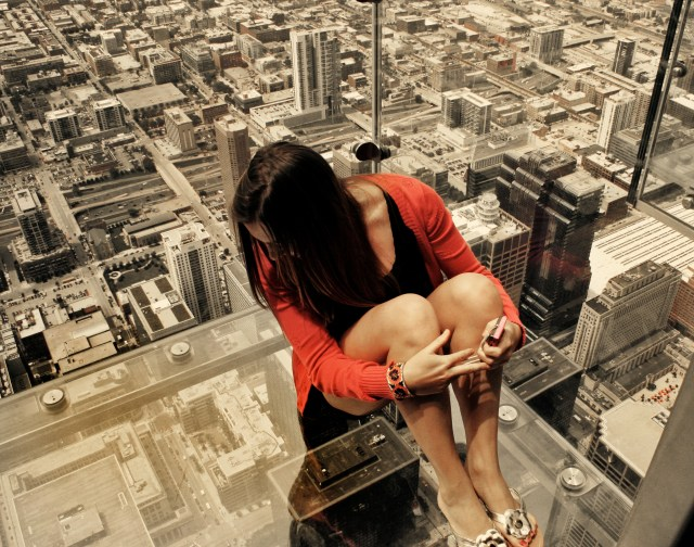 Chicago on the Ledge _ Willis Tower