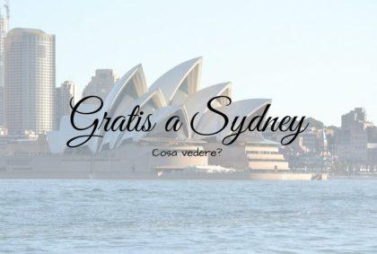 Gratis a Sydney