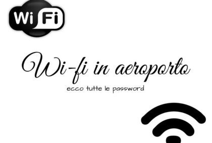 Wi-fi in aeroporto