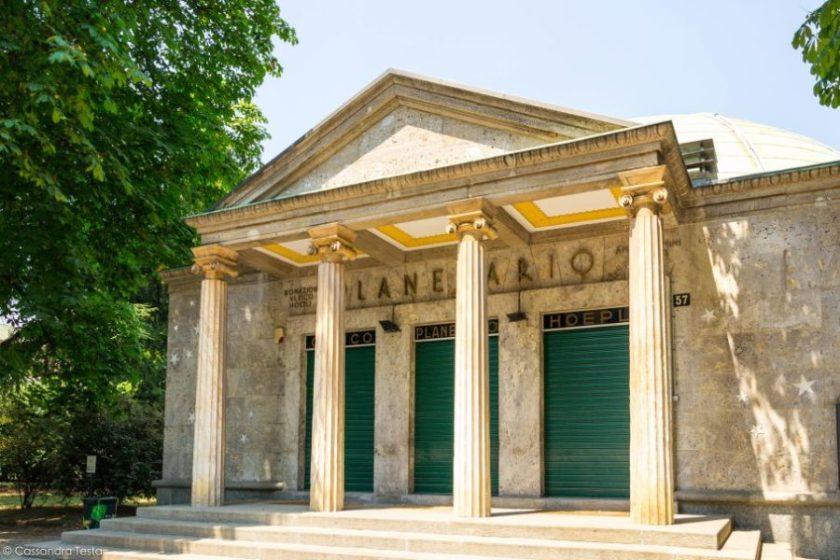 Planetario Hoepli, Milano