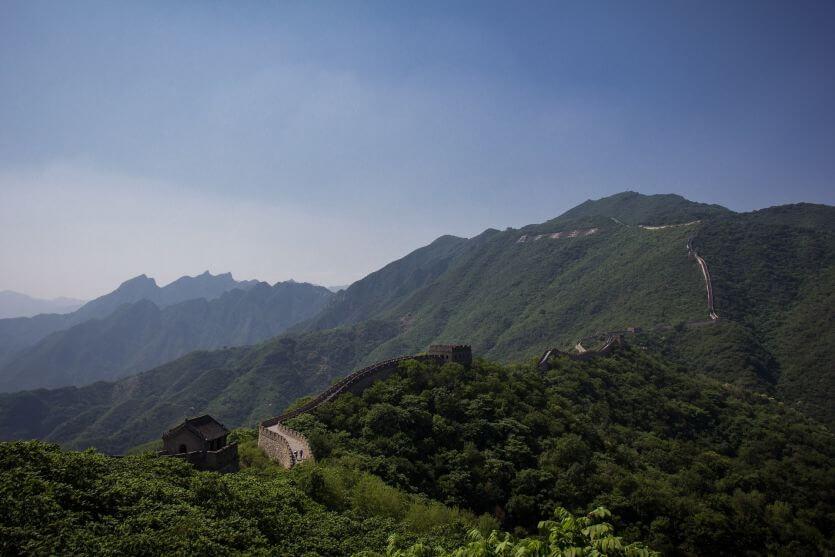 La Grande Muraglia, Cina