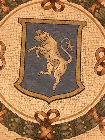 Mosaico toro - Galleria Vittorio Emanuele