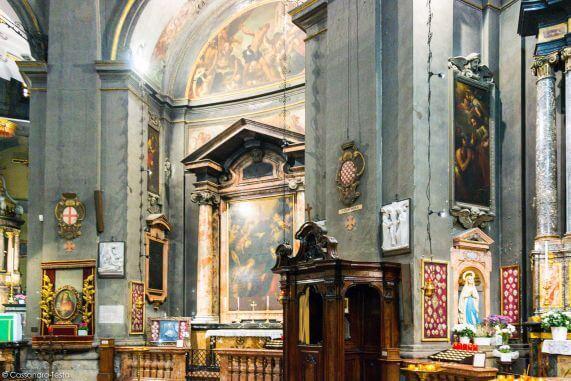 Interno Tempio di San Sebastiano