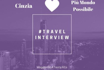 Travel Interview Cinzia
