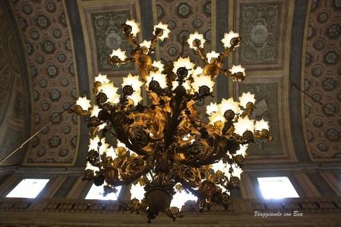Villa Reale di Monza - preziosi lampadari della sala da ballo