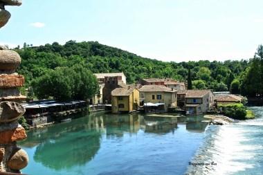 Borghetto - scorcio dal Ponte Visconteo