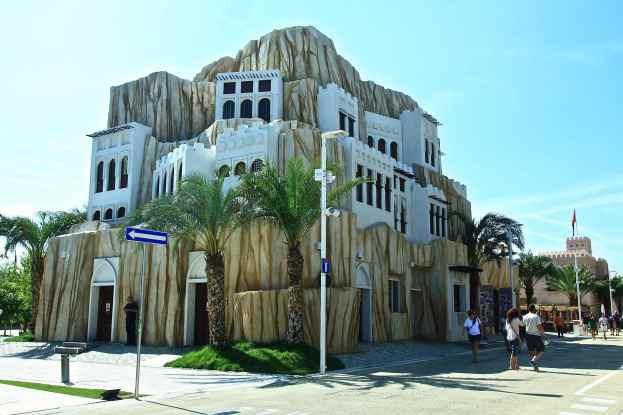 Oman - tipica architettura dei villaggi omaniti