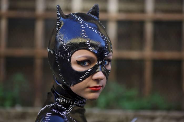 Catwoman cosplay al Lucca Comics & Games 2014