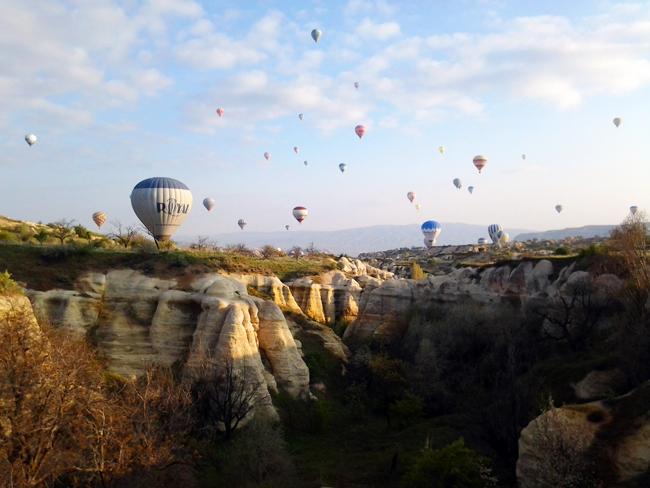 In volo tra i camini delle fate - Cappadocia Turchia