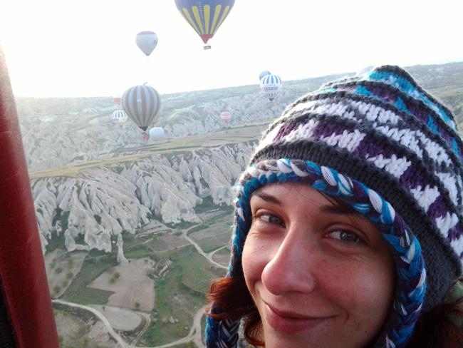 Volando in mongolfiera Cappadocia Turchia