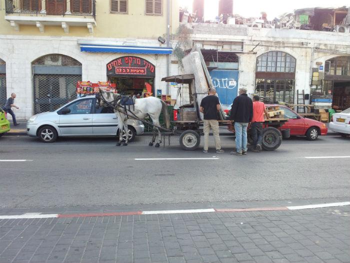 Robivecchi a Jaffa