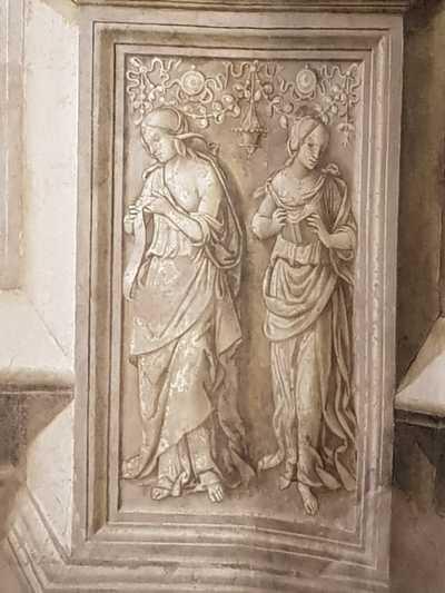 Santa Maria del Popolo, Cappella Basso della Rovere, Sibille