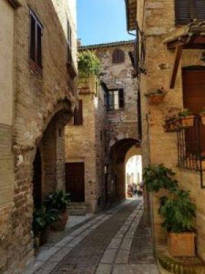 Spello, via Torre Belvedere