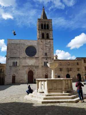 Piazza Silvestri, la chiesa di San Michele Arcangelo