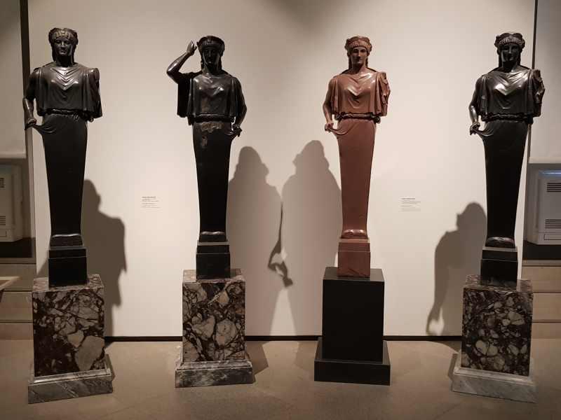 Museo del Palatino, Erme del tempio di Apollo