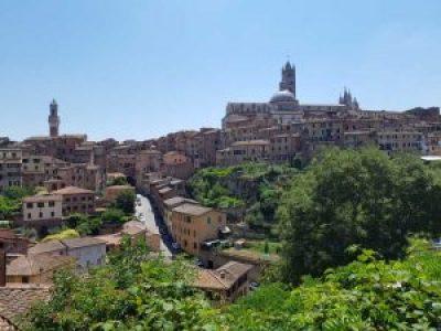 Il panorama di Siena dalla chiesa di San Domenico
