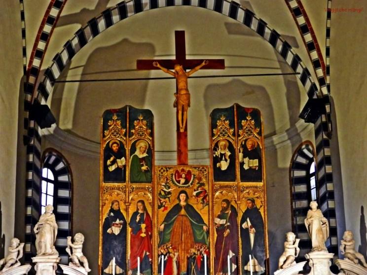Convento di S. Domenico, Taggia. Altare.