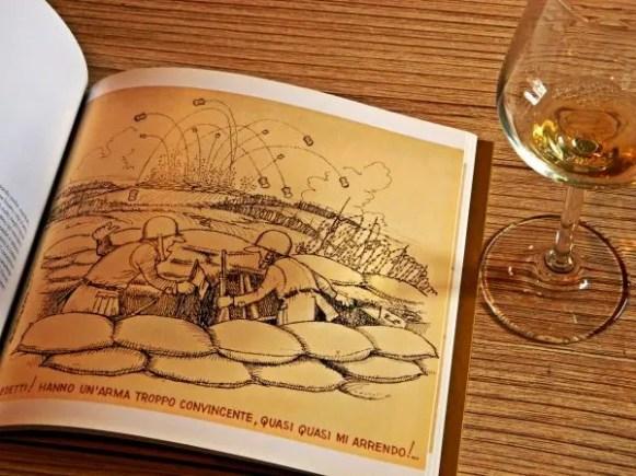 Vignetta sul vino.