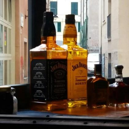 Bottiglie di Jack Daniel's