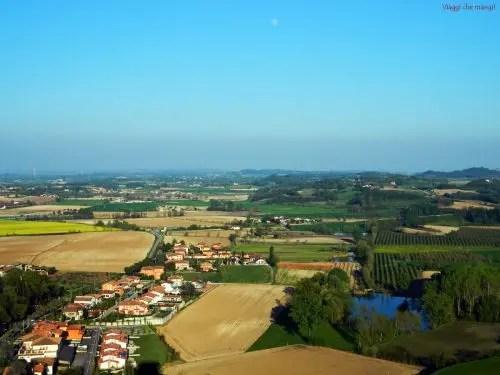 Rocca di Solferino, panorama.