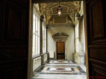 Corridoio con finestre, Palazzo Lercari.